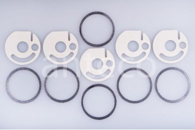 Комплект прокладок камеры сгорания  Eberspacher  Hydronic (с вырезом) D5WZ, D5WS, D3WZ, D3WS